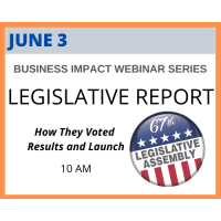 Business Impacts Webinar Series: Legislative Report