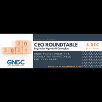GNDC to hold Virtual CEO Roundtable Series: Legislative Agenda & Gameplan