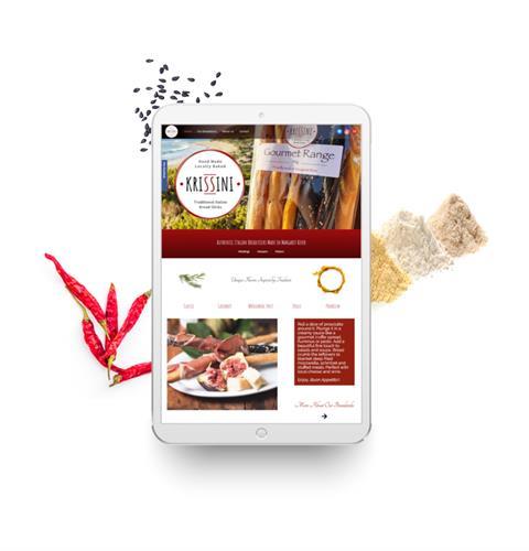 Gourmet Baking Website