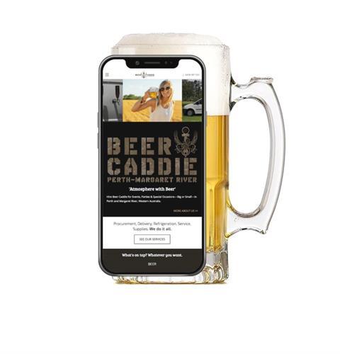 Beer Delivery & Mobile Bar Rental Website