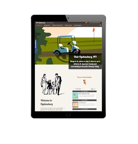 Visit Ogdensburg Website
