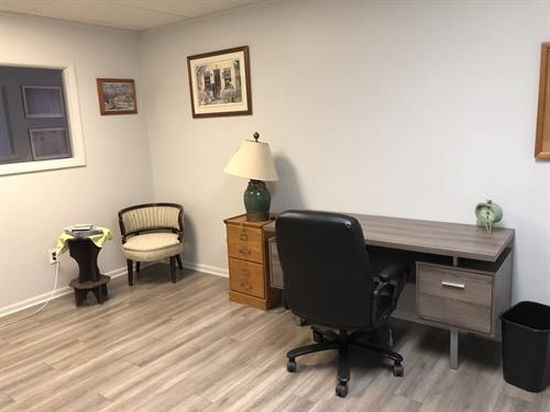 Private office setting