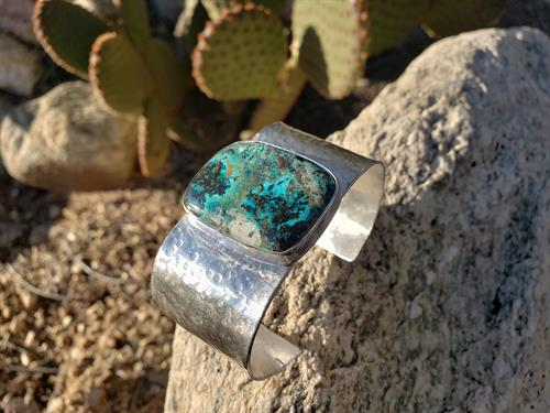 Azurite  Power Cuff