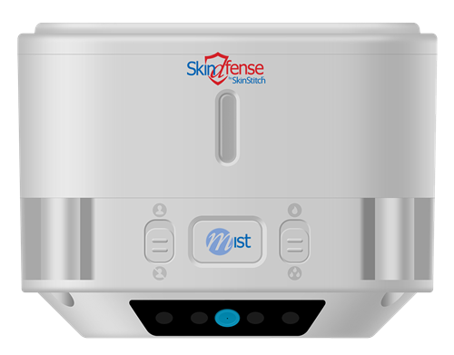 The SkinDfense Mist is a revoutionary hand sanitizer designed in Massena, NY.