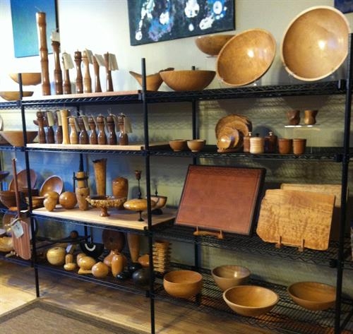 Maple Run Emporium Artisan Gallery - Local Wood Turnings