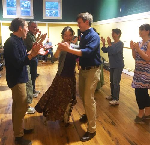 2017 Contra Dance at The TAUNY Center