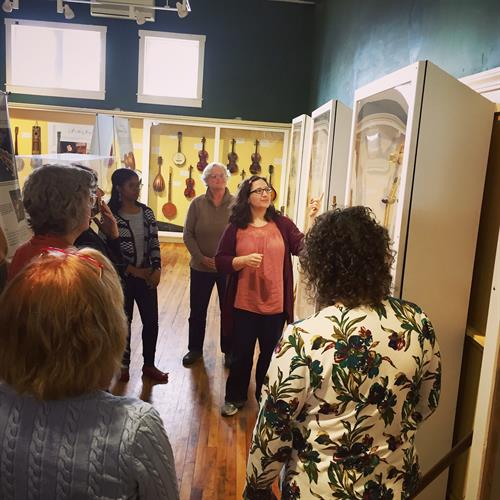 "Guided Tour with Curator Camilla Ammirati of TAUNY's 2018 Exhibit ""Instrumental Stories"""