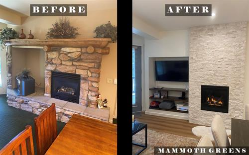Fireplace Remodel _ Example 3