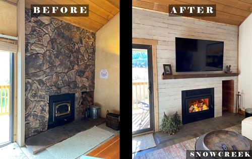 Fireplace Remodel _ Example 2