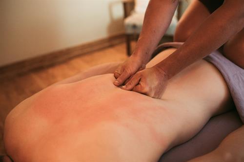 CBD Deep Tissue Massage