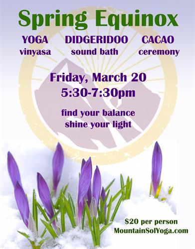 Cacao ceremony - Spring Equinox