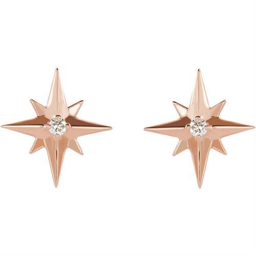 North Star Diamond Studs