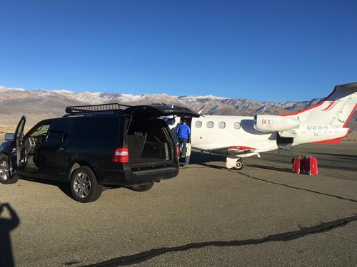 MAWS Private jet ramp service