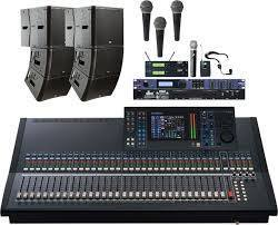 Full compliment of high quality sound gear
