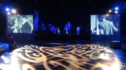 Video, gobo, live sound concert services