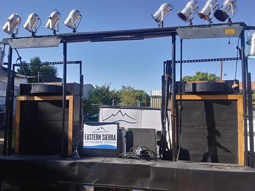 Porta Party mobile sound lighting and video platform
