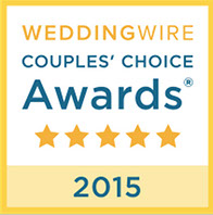 Rated amoung the best by Weddingwire brides in 2015 and 2016