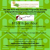 Housing & Community Development Internship