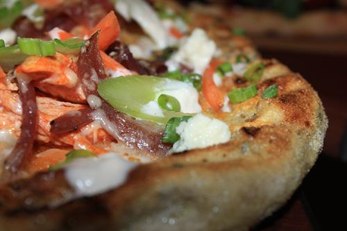 Flatbread Pizza: Crust Made from Scratch Daily
