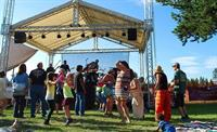 Newberry Event annual outdoor July music festival-fundraiser to Defeat MS (multiple sclerosis)