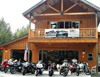 Motofantasy street motorcycle rentals on site to experienced riders - Norton, BMWs, Harleys, Hondas and more.