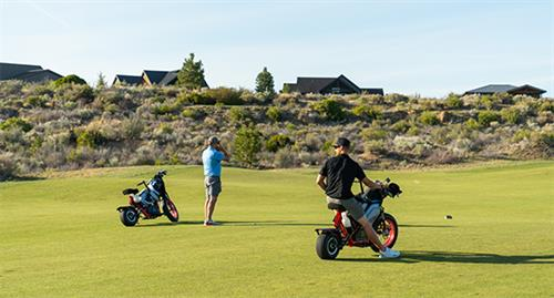 Finn Scooters and GolfBoards are available