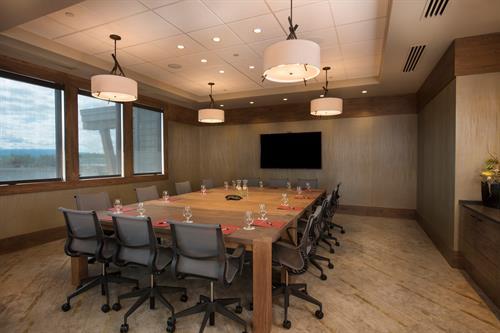 Tetherow's event pavilion - Smith Rock meeting room