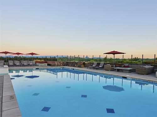 Tetherow's year round heated pool