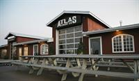 ATLAS Cider Co. Taproom- indoor and outdoor seating