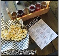 ATLAS Cider Co. offers popcorn alongside our ciders while visiting the taproom