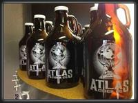 ATLAS Cider Co. growlers