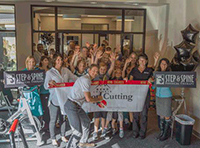 Bend Chamber Ribbon Cutting ceremony at Step & Spine Physical Therapy's Bend clinic.
