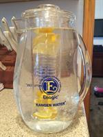 9.5 ph Kangen water infused with Lemon
