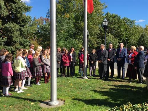 Polish Heritage Month - Flag Raising