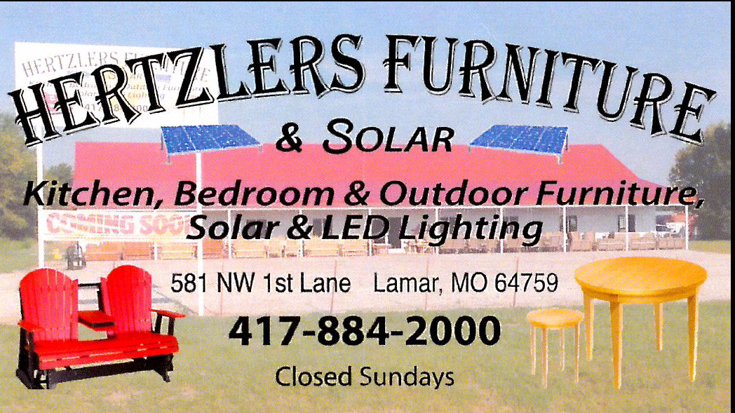 Hertzlers Furniture, Solar & Sunflower Bakery celebrates their first year