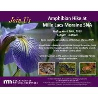 Amphibian Hike at Mille Lacs Moraine
