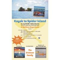 Kayak to Spider Island