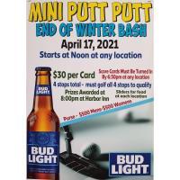 Mini Putt Putt End of Winter Bash