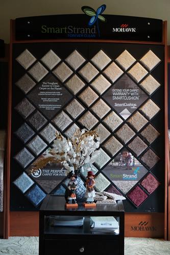 Mohawk Carpet Display