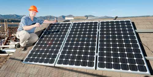 Solar panel instruction