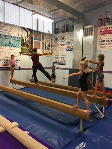 Gymnastics Classes for girls