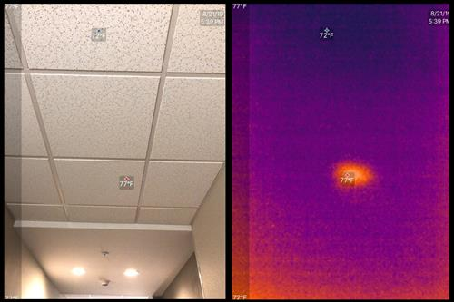 Thermal Camera Wireless Access Point Detection
