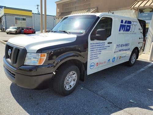 MBIT Group Service Van