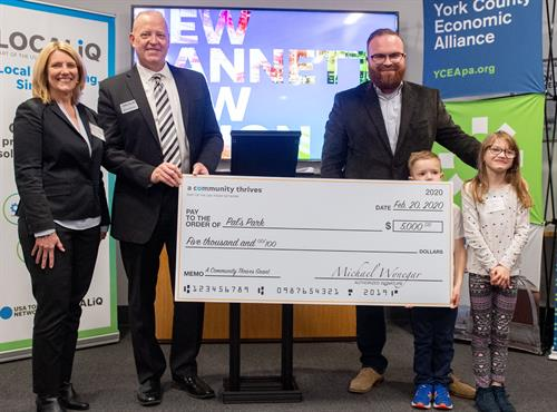 Pals Park Gannett Foundation Award 2020