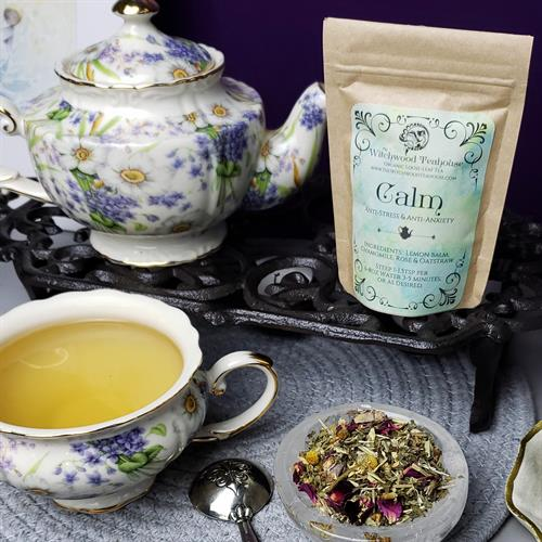 Calming tea for stress and anxiety