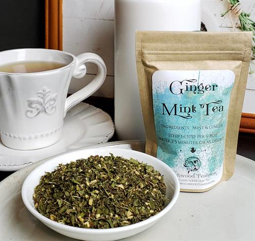 Ginger Mint loose Leaf Tea