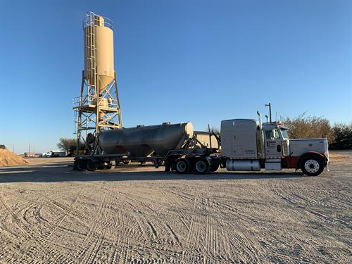 Hauling bulk cement/fly ash