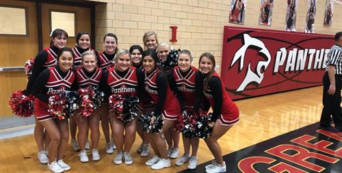GBHS Cheerleaders 2019
