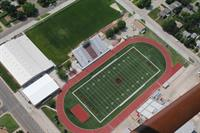 Great Bend High School aerial