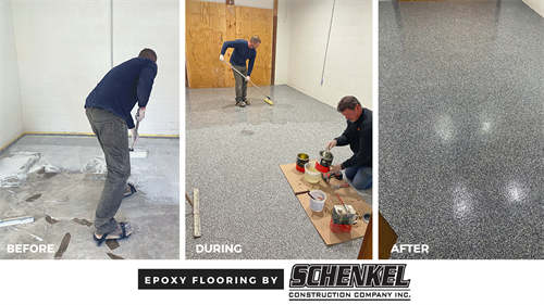 Epoxy Flooring by Schenkel